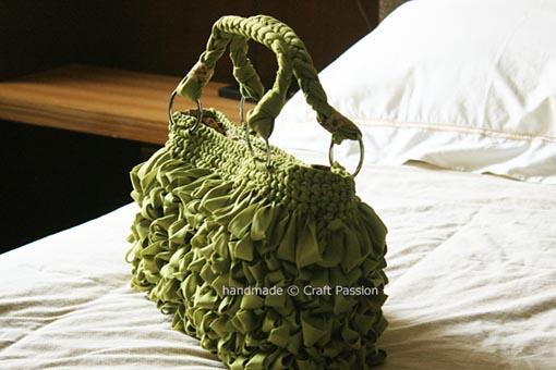 Вязанная сумка.  Мастер класс - Вязание.