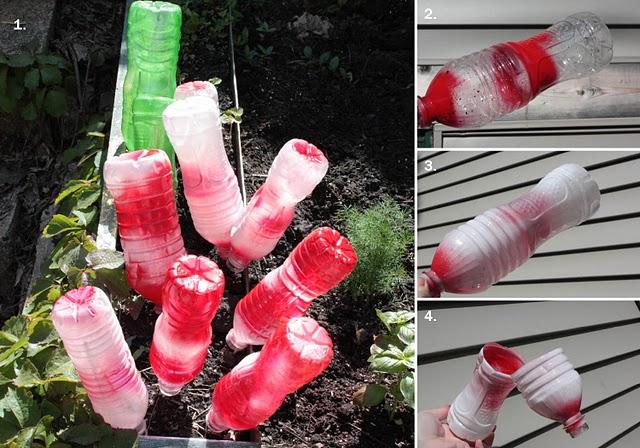 Цветы из пластиковой бутылки