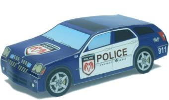 Бумажная модель автомобиля ford taxi